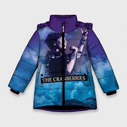 Куртка зимняя для девочки The Cranberries цвета 3D-черный — фото 1