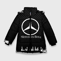 Куртка зимняя для девочки Mercedes-Benz: Black Side цвета 3D-черный — фото 1