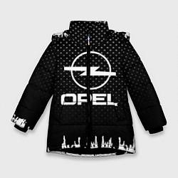 Куртка зимняя для девочки Opel: Black Side цвета 3D-черный — фото 1