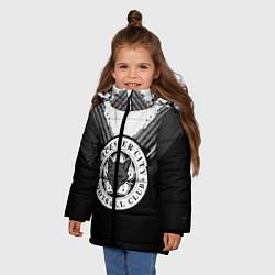 Куртка зимняя для девочки FC Leicester City: Black Style цвета 3D-черный — фото 2