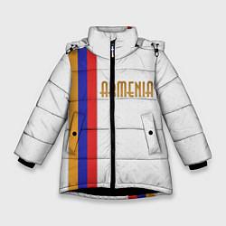 Куртка зимняя для девочки Armenia Line цвета 3D-черный — фото 1