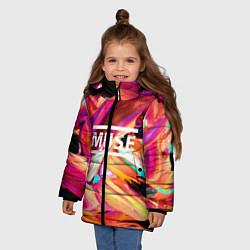 Куртка зимняя для девочки MUSE: Neon Colours - фото 2