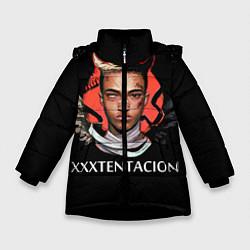 Куртка зимняя для девочки XXXTentacion: Angel & Demon цвета 3D-черный — фото 1