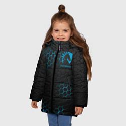 Куртка зимняя для девочки Team Liquid: Carbon Style цвета 3D-черный — фото 2