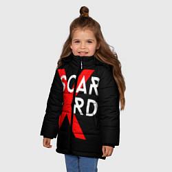 Куртка зимняя для девочки Scarlxrd Logo - фото 2