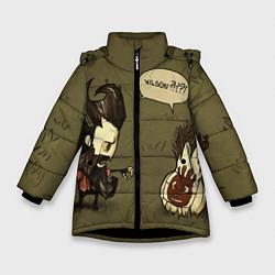 Куртка зимняя для девочки Wilson outcast - фото 1