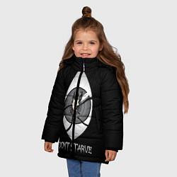 Куртка зимняя для девочки Wilson Eye цвета 3D-черный — фото 2