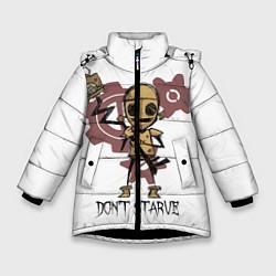 Куртка зимняя для девочки Don't Starve: WX-78 цвета 3D-черный — фото 1