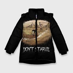Куртка зимняя для девочки Don't starve stories - фото 1