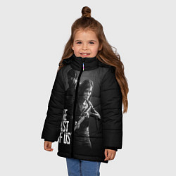 Куртка зимняя для девочки The Last of Us: Black Style цвета 3D-черный — фото 2