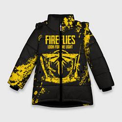Куртка зимняя для девочки Fireflies: Look for the Light цвета 3D-черный — фото 1
