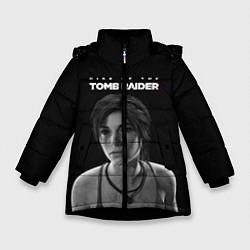 Куртка зимняя для девочки Rise if The Tomb Raider цвета 3D-черный — фото 1