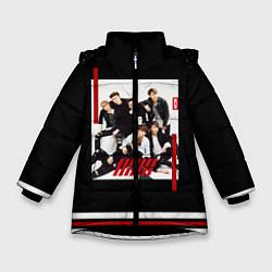 Куртка зимняя для девочки IKON Band цвета 3D-черный — фото 1