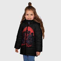 Куртка зимняя для девочки Michael Jackson: Thriller цвета 3D-черный — фото 2