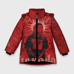 Куртка зимняя для девочки Ghostemane Hexada цвета 3D-черный — фото 1