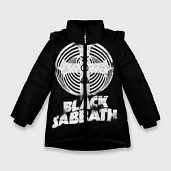 Куртка зимняя для девочки Black Sabbath: Faith цвета 3D-черный — фото 1