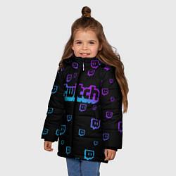 Куртка зимняя для девочки Twitch: Neon Style - фото 2