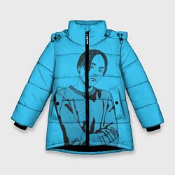 Куртка зимняя для девочки T-Fest цвета 3D-черный — фото 1