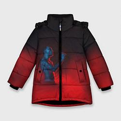 Куртка зимняя для девочки Скриптонит - фото 1