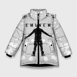 Куртка зимняя для девочки EMINEM цвета 3D-черный — фото 1