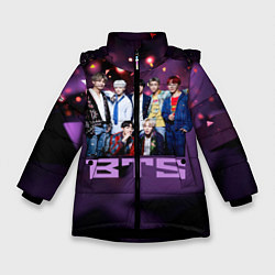 Зимняя куртка для девочки BTS