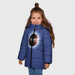 Куртка зимняя для девочки Batle for the sun цвета 3D-черный — фото 2