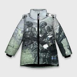 Куртка зимняя для девочки Halo 2 Z цвета 3D-черный — фото 1