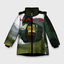 Куртка зимняя для девочки Halo Z цвета 3D-черный — фото 1