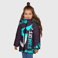 Куртка зимняя для девочки STANDOFF 2 СТАНДОФФ 2 цвета 3D-черный — фото 2
