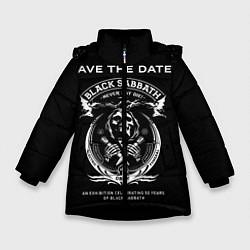 Куртка зимняя для девочки The End World Tour цвета 3D-черный — фото 1