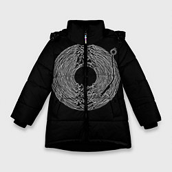 Куртка зимняя для девочки JOY DIVISION цвета 3D-черный — фото 1