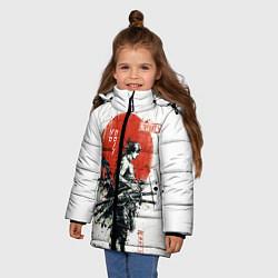 Куртка зимняя для девочки ONE PIECE ZOHO SAMURAI цвета 3D-черный — фото 2
