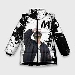 Куртка зимняя для девочки СЛАВА МАРЛОУ - фото 1