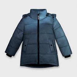 Куртка зимняя для девочки Дымчатый цвета 3D-черный — фото 1