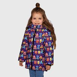Куртка зимняя для девочки День рождения - фото 2