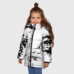 Куртка зимняя для девочки Dragon Haku цвета 3D-черный — фото 2