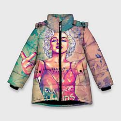 Куртка зимняя для девочки Монро - фото 1