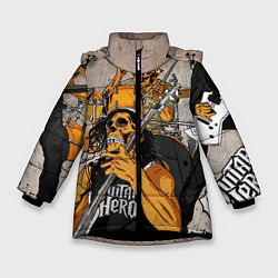 Куртка зимняя для девочки Metallica: Guitar Hero - фото 1