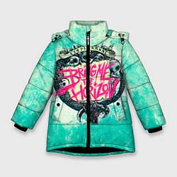 Куртка зимняя для девочки BMTH: Sempiternal цвета 3D-черный — фото 1