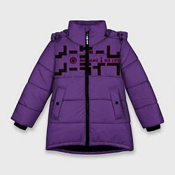 Зимняя куртка для девочки No game no life Sora