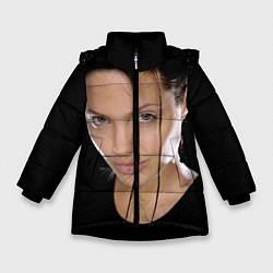 Куртка зимняя для девочки Tomb Rider цвета 3D-черный — фото 1