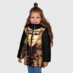 Куртка зимняя для девочки Хатшепсут цвета 3D-черный — фото 2