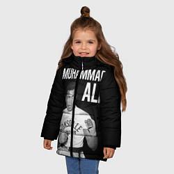Куртка зимняя для девочки Muhammad Ali - фото 2