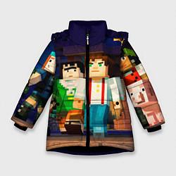 Зимняя куртка для девочки Minecraft Men's