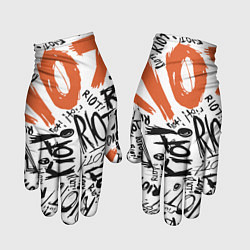 Перчатки Paramore: Riot цвета 3D — фото 1