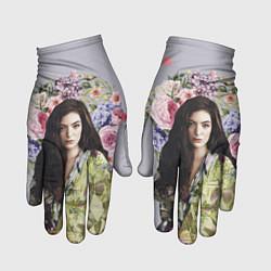 Перчатки Lorde Floral цвета 3D — фото 1