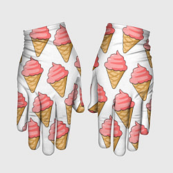 Перчатки Мороженки цвета 3D — фото 1