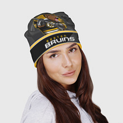 Шапка Boston Bruins цвета 3D-принт — фото 2