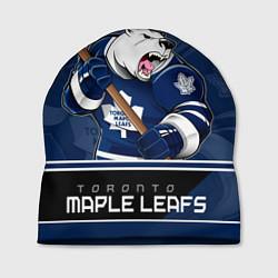 Шапка Toronto Maple Leafs цвета 3D-принт — фото 1