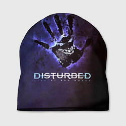 Шапка Disturbed: Live at red rocks цвета 3D-принт — фото 1